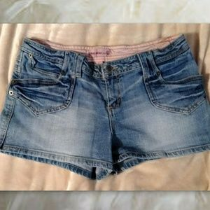 💜 Duck Head Jeans Shorts Size 13 Light Denim